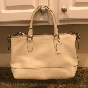 Genuine leather coach purse